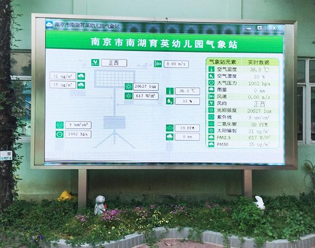 Intelligent project of a kindergarten in Nanjing