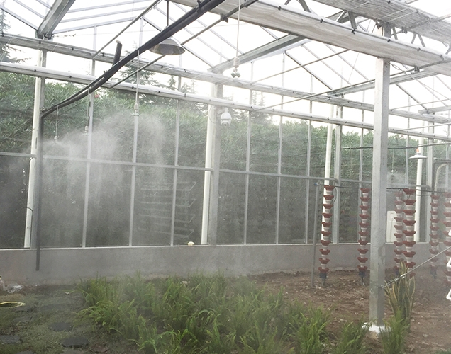 Intelligent Greenhouse of a university in Shanghai