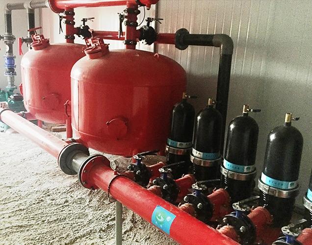 Xuzhou intelligent irrigation project