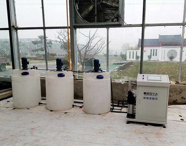 Intelligent irrigation project of Xuzhou Industrial Park
