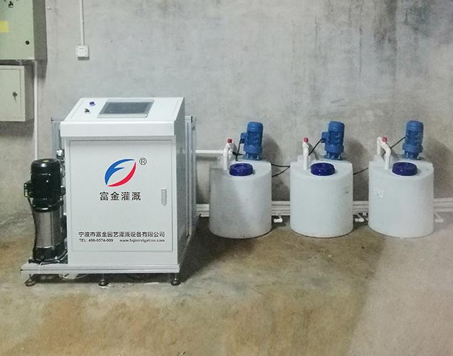 Beijing intelligent irrigation project