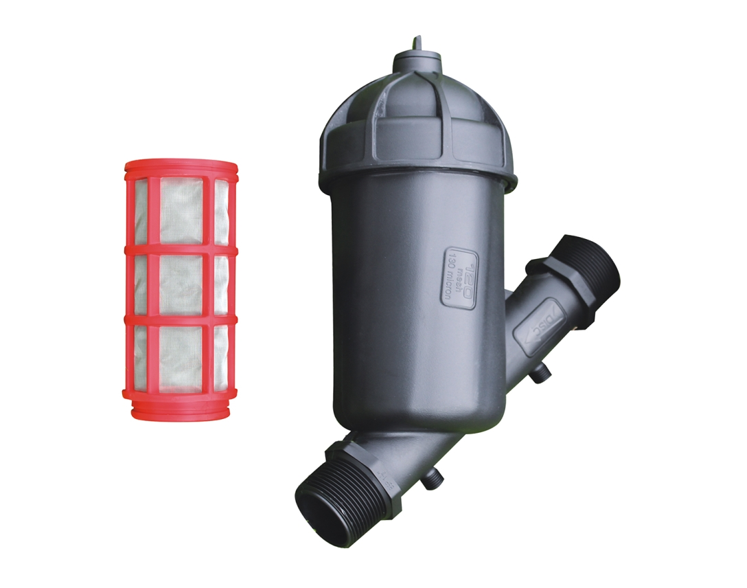 1.5, 2, 2.5 inch mesh filter