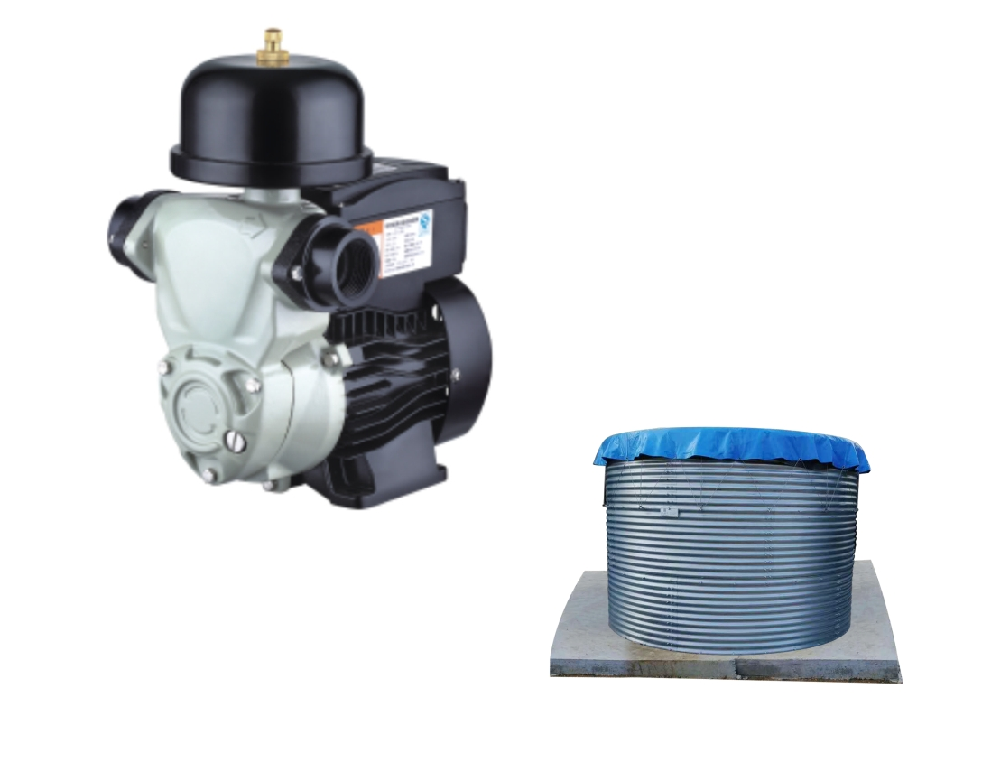 Water source and water pump