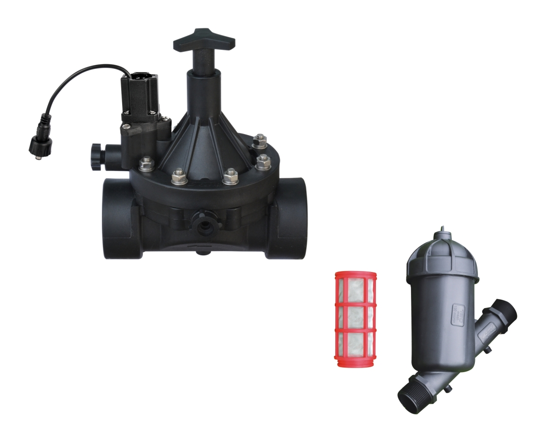 Valve and filter