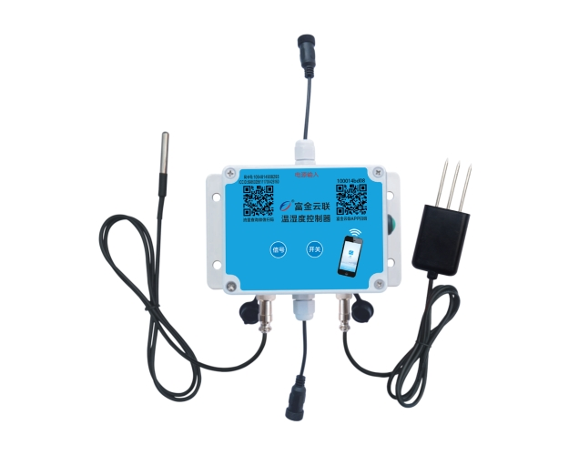 Cloud connected temperature and humidity controller