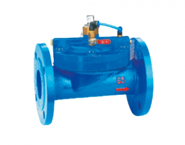 Metal pulse solenoid valve
