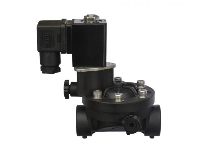 N.O. - N.C. solenoid valve