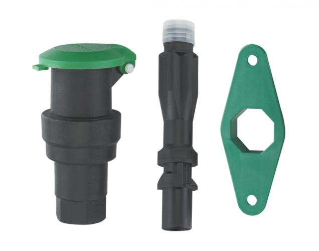 Inner silk plastic water intake valve