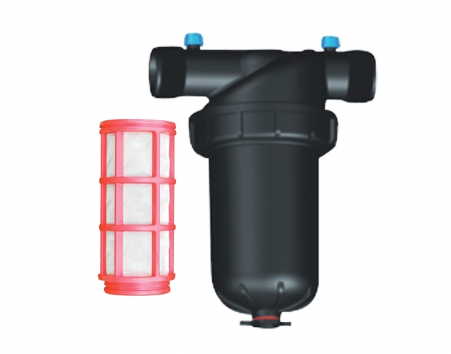 1.2, 1.5-inch mesh filter