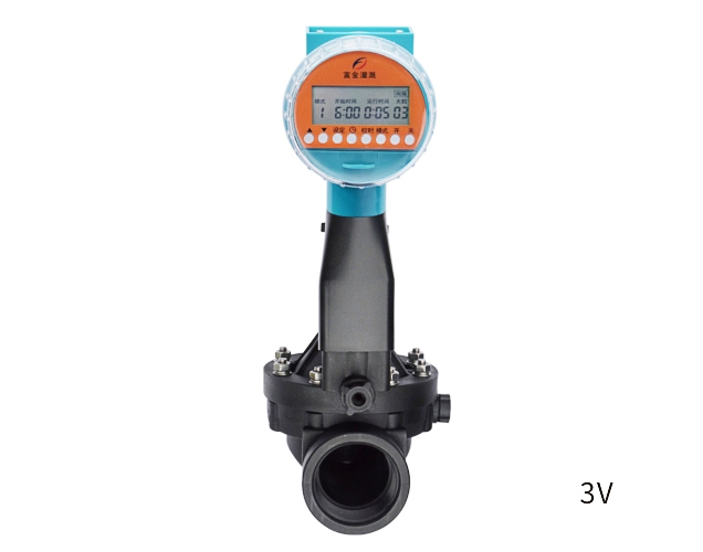 Three generations of dry cell rain liquid crystal solenoid valve controller