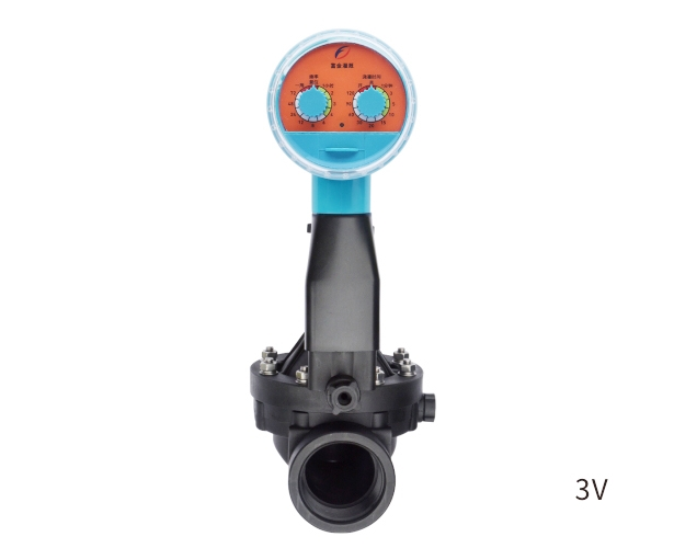Dry cell dual dial code solenoid valve controller