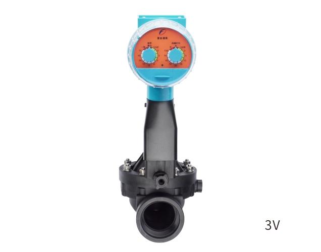 Rain dual dial code solenoid valve controller